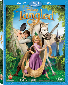 Tangled DVD/Blu-Ray Combo Pack