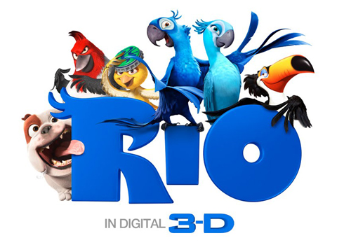 Rio Movie Logo Wallpaper