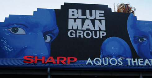 Blue Man Group Universal Orlando Resort