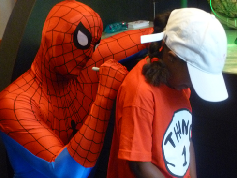 Meeting Spider-Man at Universal's Islands of Adventure
