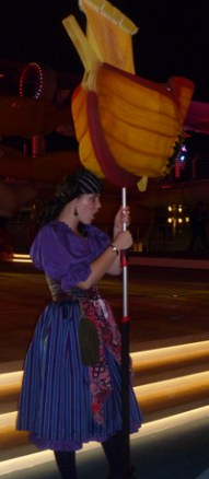 Pirate Games During Pirates IN the Caribbean Party Aboard Disney Dream Cruise