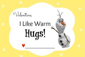 Disney Frozen Valentineu0027s Day Cards