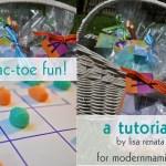 Easter Tic Tac Toe Fun! {Kids Activity}