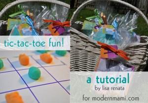 Easter Tic Tac Toe Fun Kids Activity