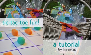 Easter Tic Tac Toe Fun! {Kids Activity}