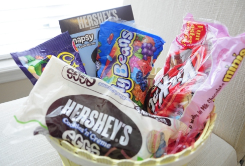 Hershey's Easter Basket for Hershey's Bunny Trail