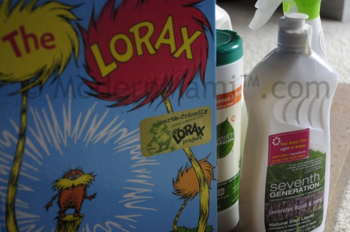 Spring Cleaning with Seventh Generation and The Lorax
