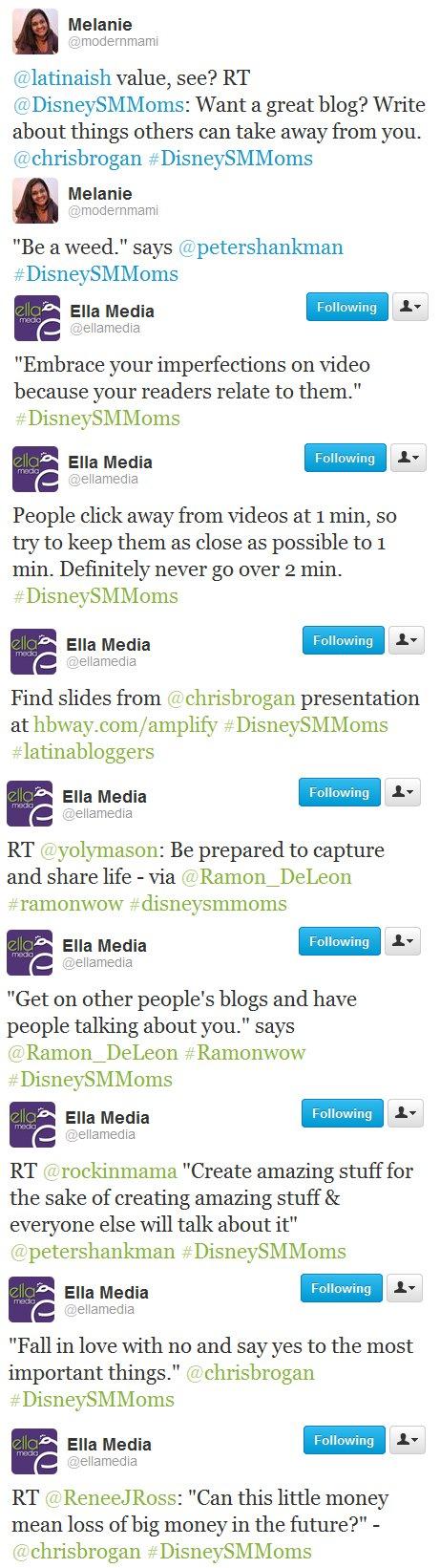 Disney Social Media Moms Celebration Speaker Insights