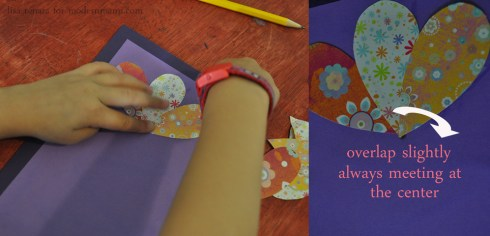 Making the Flower - Homemade Mother's Day Card Craft for Kids