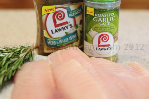 Tilapia Recipe with Lawry's Marinade and Salt Blend, Ingredients