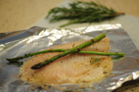 Tilapia Fish Recipe: Baking in Steam Pocket