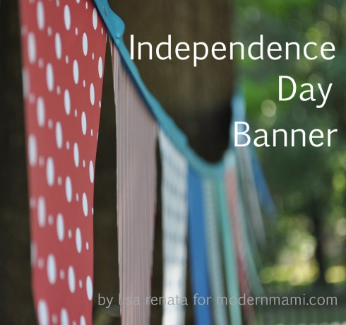 4th of July (Independence Day) Banner Kids Craft