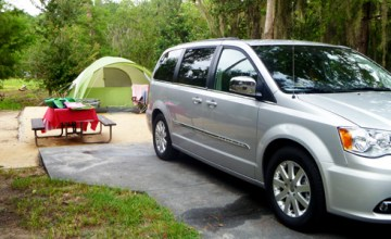 Camping with the Chrysler Town & Country