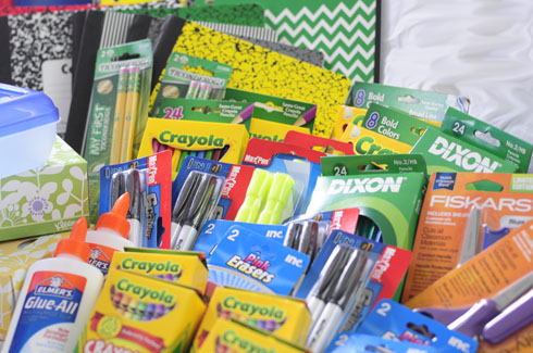 Back to School Supplies for First Grader