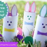 Hopping Easter Bunny {Kids Craft}