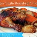 Easy Italian-Style Roasted Chicken {Recipe}