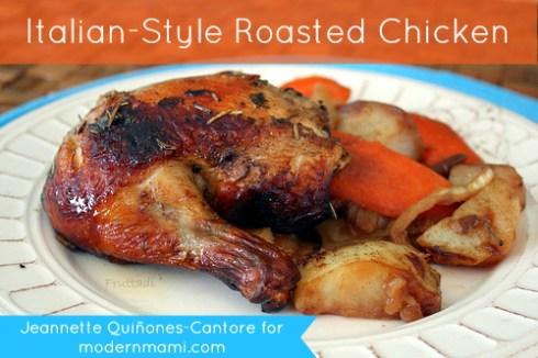 Italian-Style Roasted Chicken Recipe