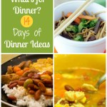 Planning Meals for Dinner in Advance: Sample 2-Week Menu Plan