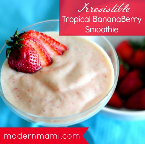 Strawberry Banana Mango Smoothie Recipe