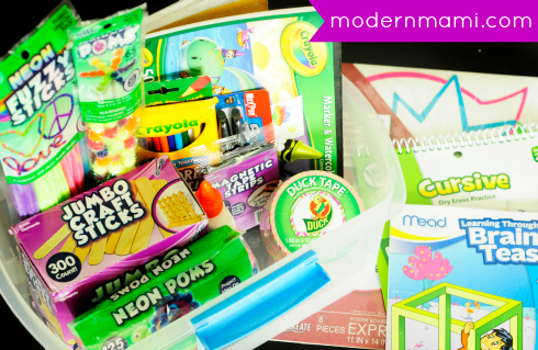 Summer Learning and Fun Craft Kit for Kids