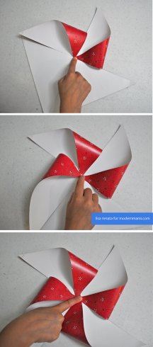 How to Make Fourth of July Pinwheels