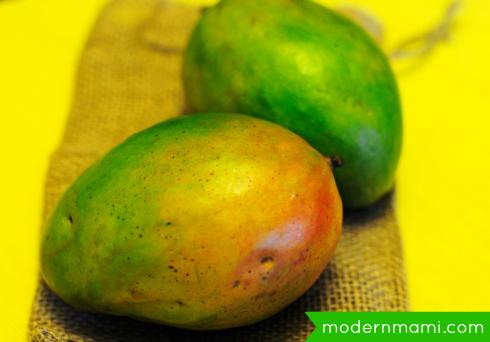 Fresh Mangos for Limber de Mango Recipe