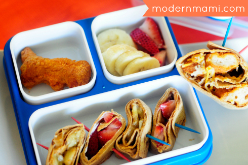 Easy Wraps & Roll-ups for Kids School Lunch