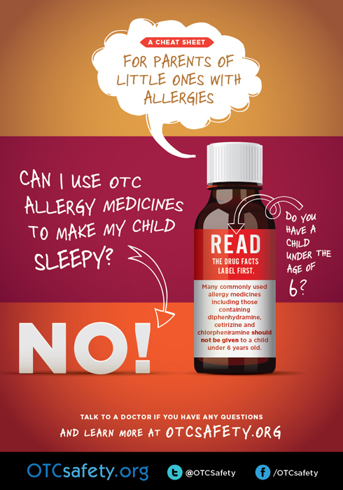 Allergy Medicine Safety Reminders for Children