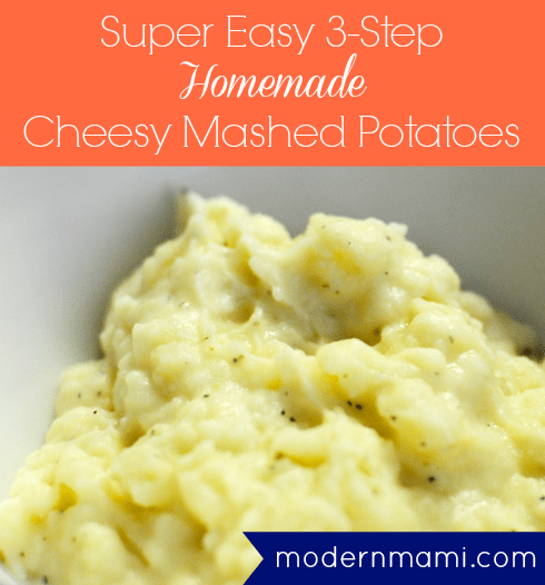 Homemade Cheesy Mashed Potatoes Recipe