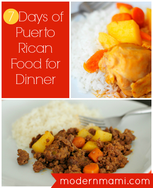 7 Days of Puerto Rican Food: Weekly Meal Plan for Dinner