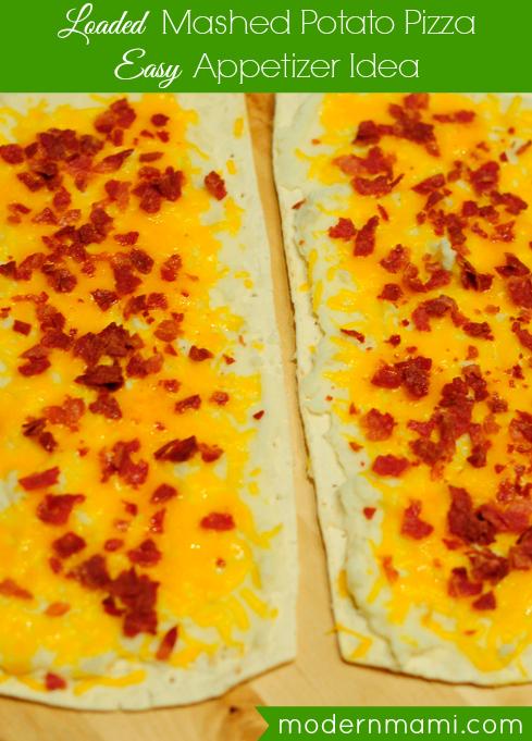 Loaded Mashed Potato Pizza Recipe