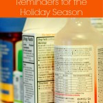 Medicine Safety Reminders for the Holiday Season