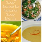 Celebrating National Soup Month: 12 Soup Recipes for Your Dinner Menu Plan!
