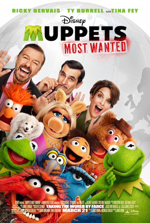 Disney's Muppets Most Wanted Movie Review