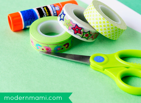 St. Patrick's Day Shamrock Crafts for Kids, Materials Needed