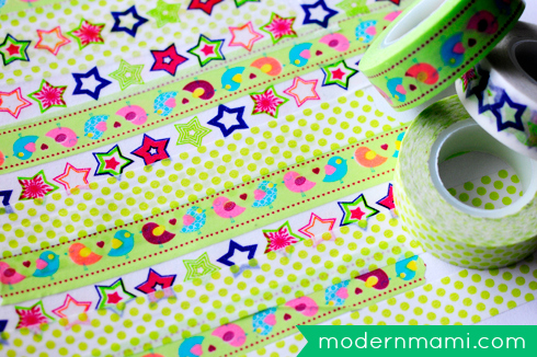 St. Patrick's Day Shamrock Crafts for Kids Using Washi Tape