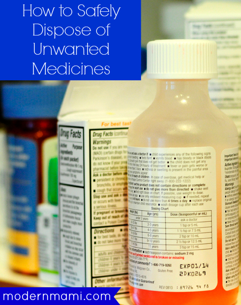 How to Safely Dispose of Expired or Unwanted Medicines