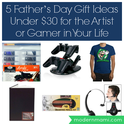 5 Father's Day gift ideas for artists or gamers, all under $30