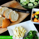 Enjoying a Family Meal Together Using Marie Callender's Frozen Meals + Fresh Ingredients