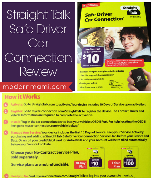 Straight Talk Safe Driver Car Connection Review