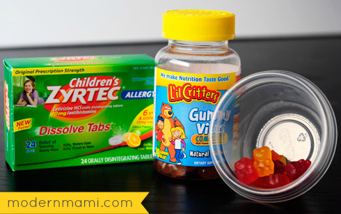 Tips for a Stress-Free Morning Routine: Daily Vitamins!