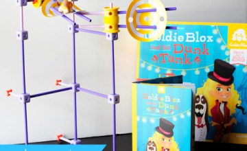 Continuing a Love of STEM with GoldieBlox Toys {Review & Giveaway}