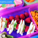 Back to School Lunch Idea: PB & J Fruit Kabobs {Recipe}