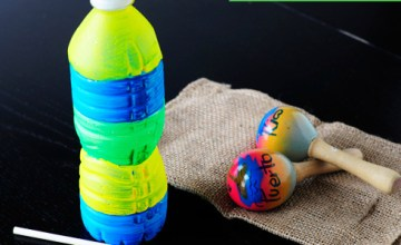 Puerto Rican Güiro Craft: How to Make a Water Bottle Güiro