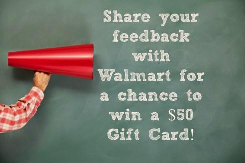 Enter to Win $50 Walmart Gift Card!