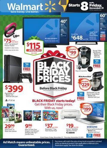 Walmart Pre-Black Friday Deals and Savings