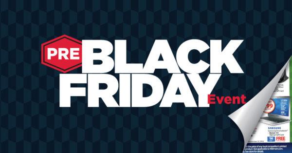 Walmart Pre-Black Friday Shopping Event