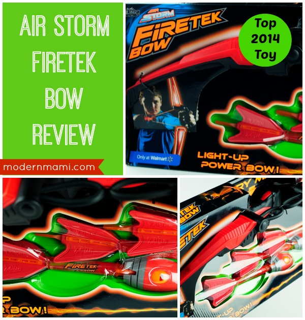 Walmart Top Toys 2014 : Your kids can light up the sky with air storm firetek bow