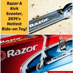 Active Kids Will Love This Year's Hottest Ride-On Toy! Razor A Kick Scooter {Review}