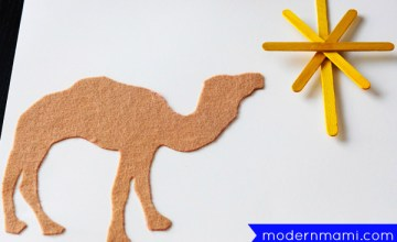 Fun, Simple Three Kings' Day Craft for Kids!